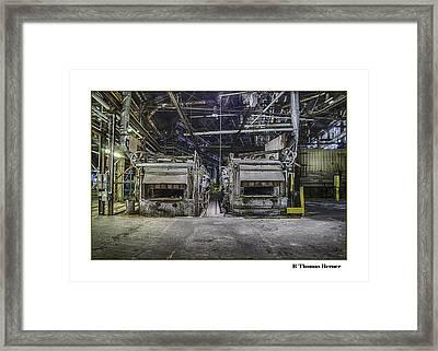 Twins Framed Print by R Thomas Berner