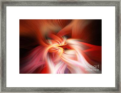 Twirling Framed Print