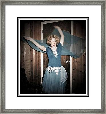 Framed Print featuring the photograph Twirling Vortex by Denise Fulmer
