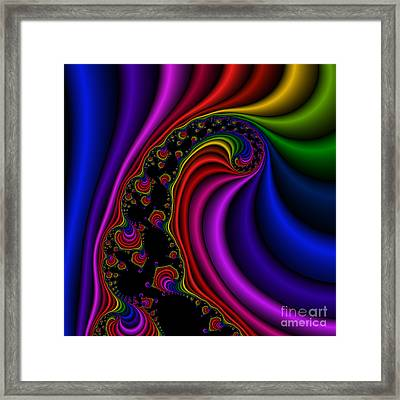 Twist 120 Framed Print by Rolf Bertram