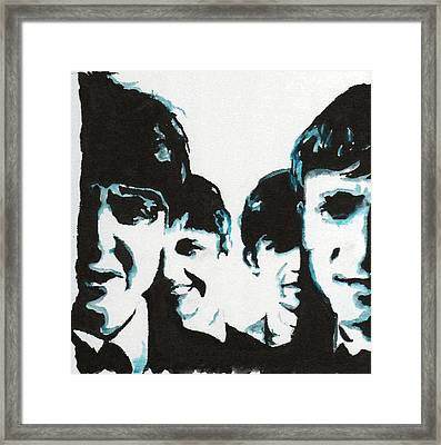 Twist And Shout Framed Print