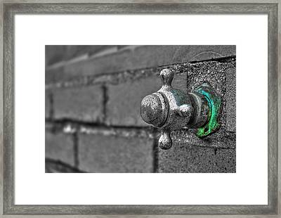 Twist And Turn Framed Print by Evelina Kremsdorf