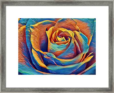 Twist On A Masterpiece 1 Framed Print by Rhonda Barrett