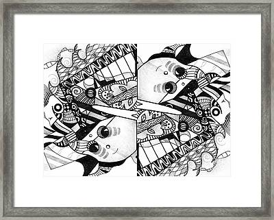 Twisted 3 - An Elements At Play Compilation Framed Print