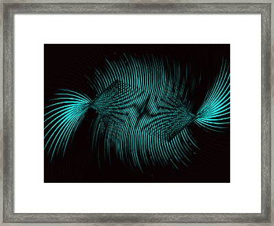 Twisted Candy Framed Print by Joshua Sunday