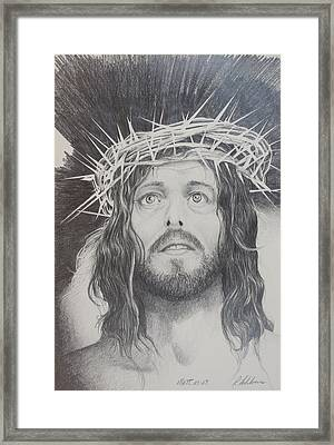 Twisted Crown Framed Print