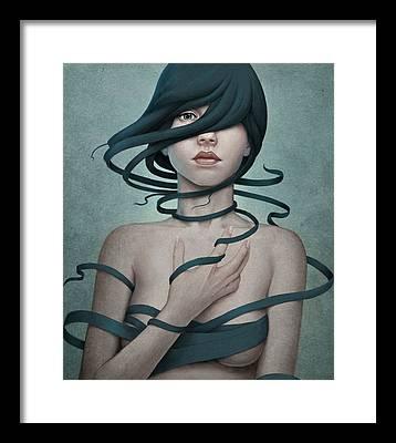 Girl Framed Prints