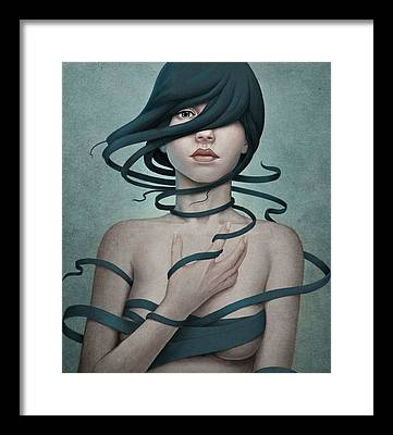 Woman Framed Prints