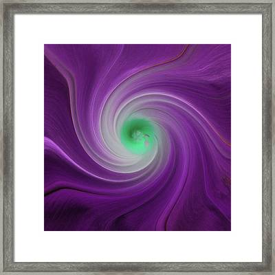 Twisted Glory 3 Framed Print by Michael Peychich