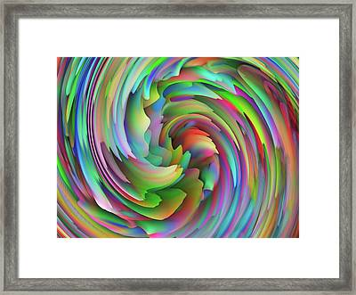 Twisted Rainbow 2 Framed Print