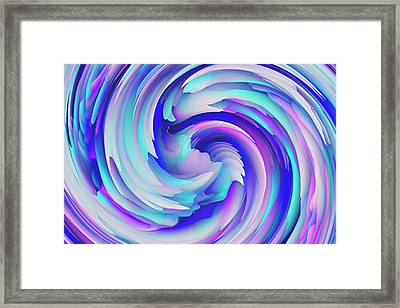 Twisted Series Framed Print