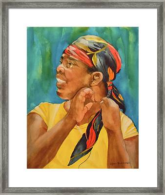 Twisted Sister Framed Print by Jean Blackmer