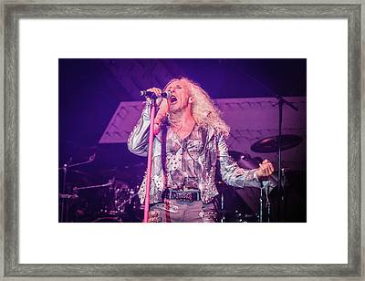 Twisted Sister, Dee Snider Framed Print by Vedran Levi