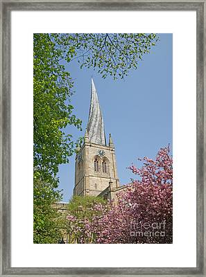 Chesterfield's Twisted Spire Framed Print