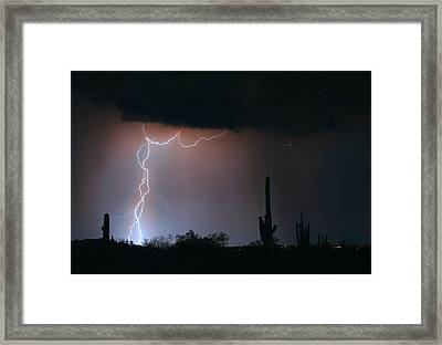 Twisted Storm Framed Print by James BO  Insogna