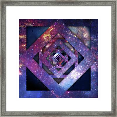 Twisted Universe, Second Framed Print