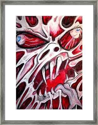 Twistedhead Framed Print by Sam Hane