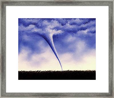 Twister Framed Print by Rachel Bingaman