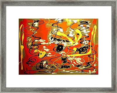 Twister Framed Print