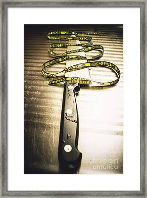 Twists And Turns Of A Serial Killer Framed Print by Jorgo Photography - Wall Art Gallery