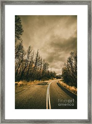 Twists And Turns Framed Print by Jorgo Photography - Wall Art Gallery