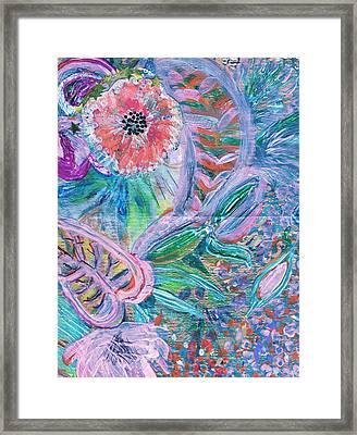 Twisty Framed Print by Anne-Elizabeth Whiteway