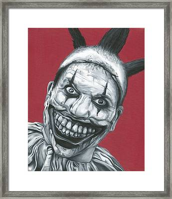 Twisty The Clown Framed Print