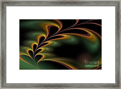 Twitterpated Framed Print by Sandra Bauser Digital Art