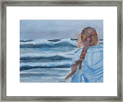 Twixt Wind And Water II Framed Print by Jenny Armitage