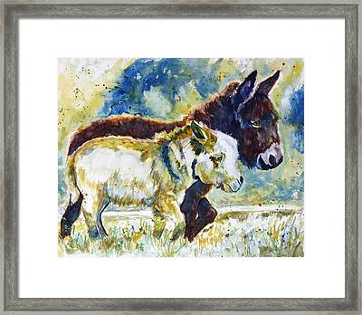 Two Amigos Framed Print