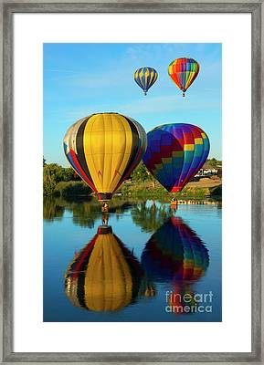 Two And Two Framed Print