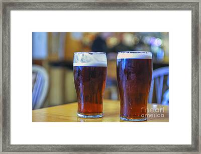 Two Bitters Framed Print
