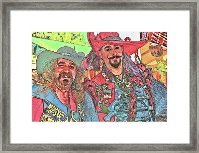 Two Buccaneers Framed Print