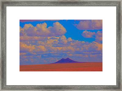 Two Butte Colorado Framed Print