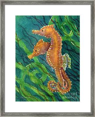 Two By Sea Framed Print