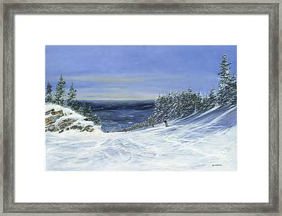 Framed Print featuring the painting Two By Two by Ken Ahlering