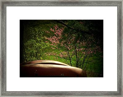 Two Canoes Framed Print by Michael L Kimble