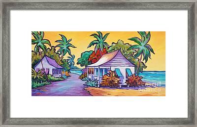 Two Cottages Framed Print
