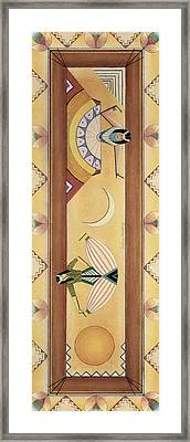 Two Dancers Framed Print by Sally Appleby
