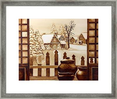 Two Daydreams Framed Print by Clarisse Pastor-Medina