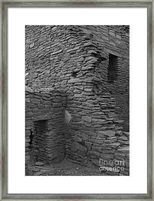 Two Doors Framed Print by Adam Smith