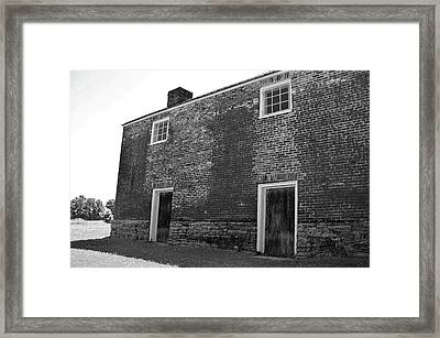 Two Doors Down To The Cellar Framed Print