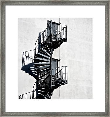 Two Doors Framed Print by Odd Jeppesen
