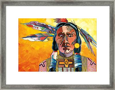 Two Feathers Framed Print by Bob Coonts