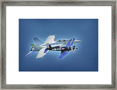 Two Fighters 01 Framed Print