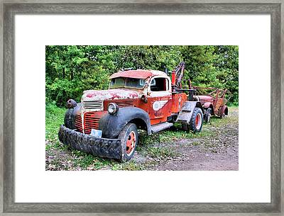 Two For One Framed Print by Kristin Elmquist