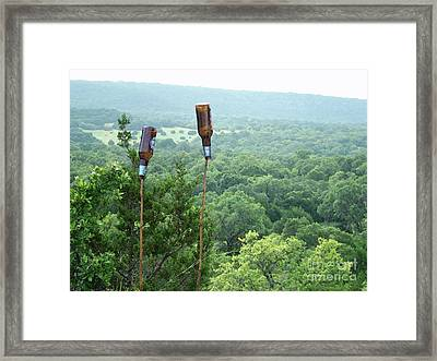 Two For The Road Framed Print