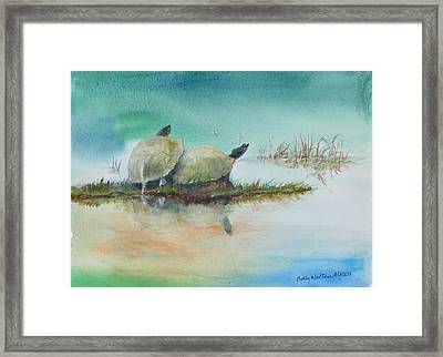 Two Friends Framed Print