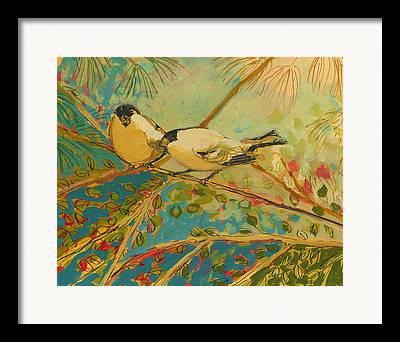 Forest Bird Framed Prints