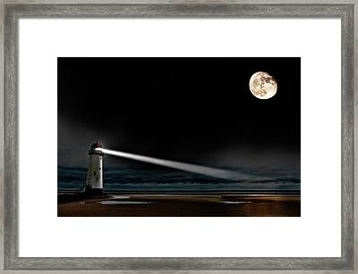 Two Guiding Lights Framed Print